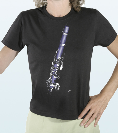 Waisted Tee-Shirt Clarinet