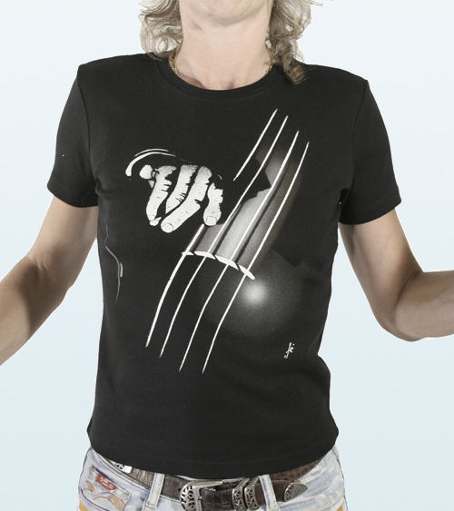 Adjusted Tee-Shirt  DOUBLE BASS Design