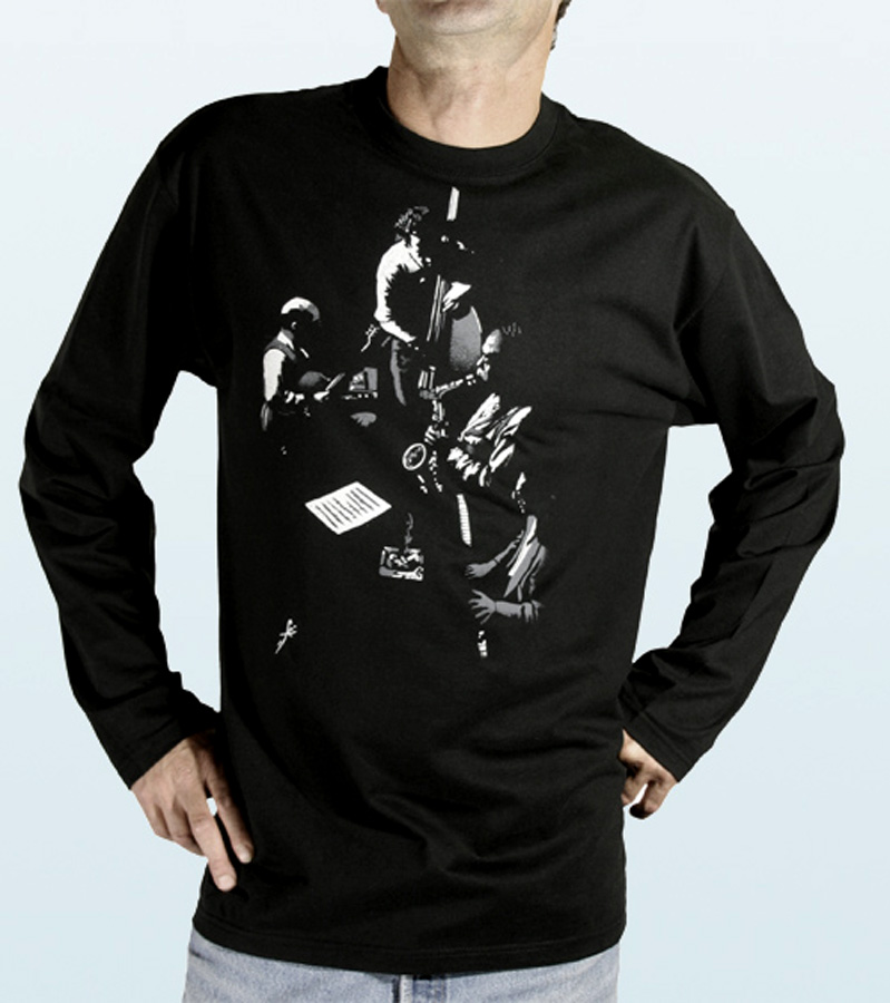 Tee-Shirt long sleeves with CHARLIE PARKER Design