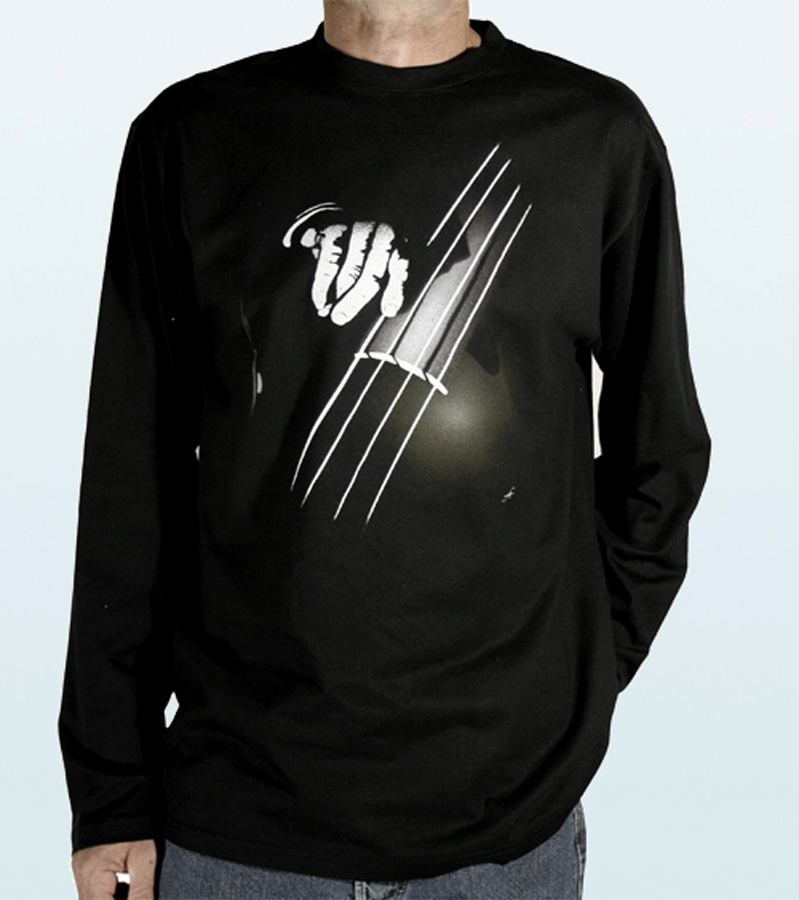 Tee-Shirt long sleeves with DOUBLE BASS Design