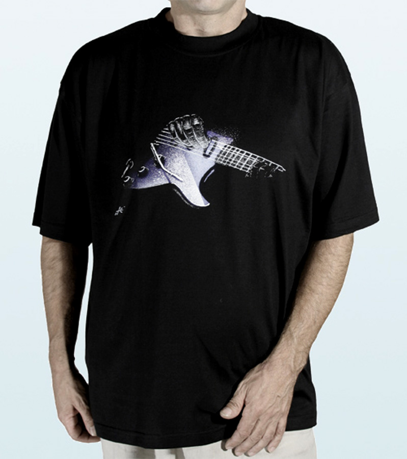 T-Shirt short sleeves ELECTRIC GUITAR Design