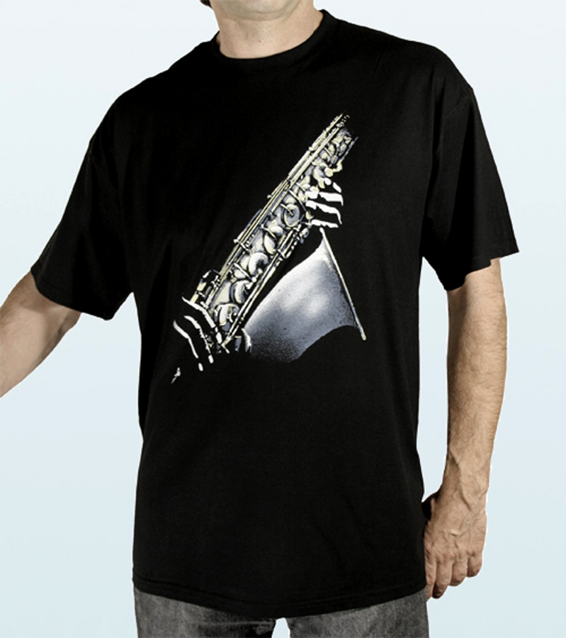 T-Shirt short sleeves SAXOPHONE Design