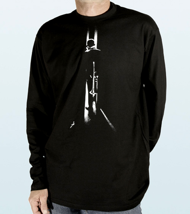 Tee-Shirt long sleeves with TROMBONIST Design